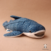 Plush Toy Whale Sharks Doll Stuffed Toys Simulation Of Marine Animals Children'S Christmas Gifts