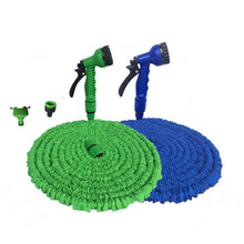 Flexible Hose Water-Connector Magic Extendable Reel-Truck Green Blue New 25-75FT