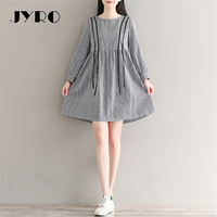 JYRO Brand Mori Women S Dresses Literary Small Pure And Fresh And Long Autumn New Loose