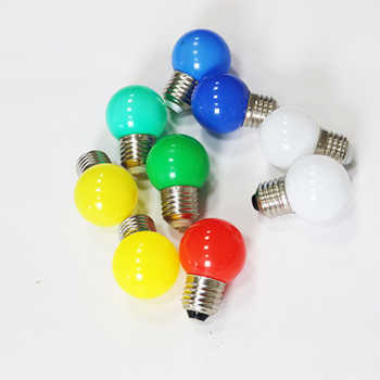 20pcs E27 LED Bulb 220V G45 Colorful Lampada RGB LED Light SMD 2835 Colorful bulbs flashlight Lamparas LED Lamp