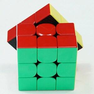 Image 4 - Gan356R S 3x3 магический куб скоростной 3x3 профессиональный пазл без наклеек Gan356 R 3x3 Cubo Magico GES v2 Gan 356 R головоломки для взрослых