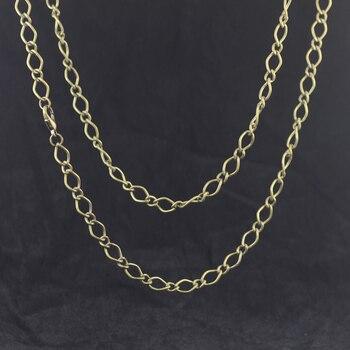 ¡70 cm 5mm joyería cadena vintage Bronce Antiguo, cadena de aleación/Metal con cierre de langosta 50 unids/lote envío gratis ~!