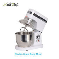 Home or commercial 5 Liters electric stand food mixer, planetary cooking mixer, egg beater, dough mixer machine Heavy duty