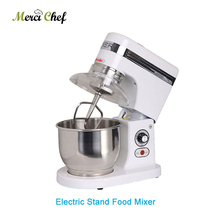 Home or commercial  5 Liters electric stand food mixer, planetary cooking mixer, egg beater, dough mixer machine Heavy duty 7l 10l electric planetary food mixer machine blender spiral bread dough mixer egg beater with dough hook removable bowl