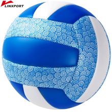 цена Free Shipping Official Size 5 PU Volleyball High Quality Match Volleyball Indoor&Outdoor Training ball With Free Gift Needle