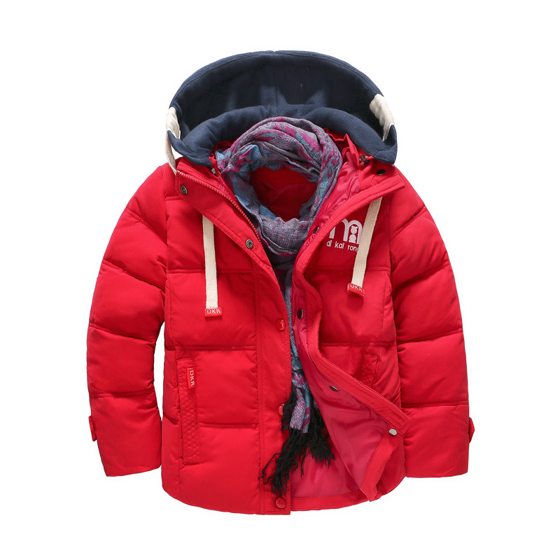 BibiCola boys winter outerwear fashion cotton thick down parkas for children casual hoodies bebe clothing kids coats jackets new arrival winter jacket men fashion brand clothing casual jackets and coats for male warm thick cotton pad men s parkas m 3xl