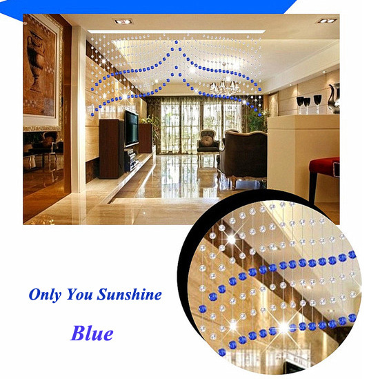 Free Shipping! New Fashion 004 Bead Beaded Door <font><b>Curtains</b></font>/ <font><b>Curtain</b></font> ---Made to Measure Size 1.2m(Drop) * 3 m(Width