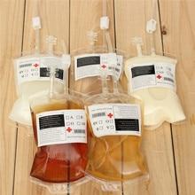Hot Sale 1pc Clear Food Grade PVC Material Reusable Blood En