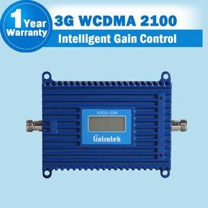 Image 2 - GSM 3G 2100 wzmacniacz sygnału wzmacniacz wyświetlacz LCD WCDMA 2100 mhz telefon komórkowy Repeater UMTS 70dB komórkowej wzmacniacz + antena S29