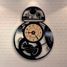 Creative Clock CD Vinyl Record Wall Clock Theme Fashion  3D Hanging Watches