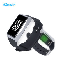 Washion IP67 Водонепроницаемый Smart Браслет Heart Rate Мониторы Bluetooth 4.0 браслет Спорт шаг смарт-браслет для iOS и Andriod Системы