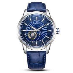 Seagull watch men 819.32.1014K automatyczny mechaniczny męski zegarek samonakręcający rezerwa chodu koło zamachowe