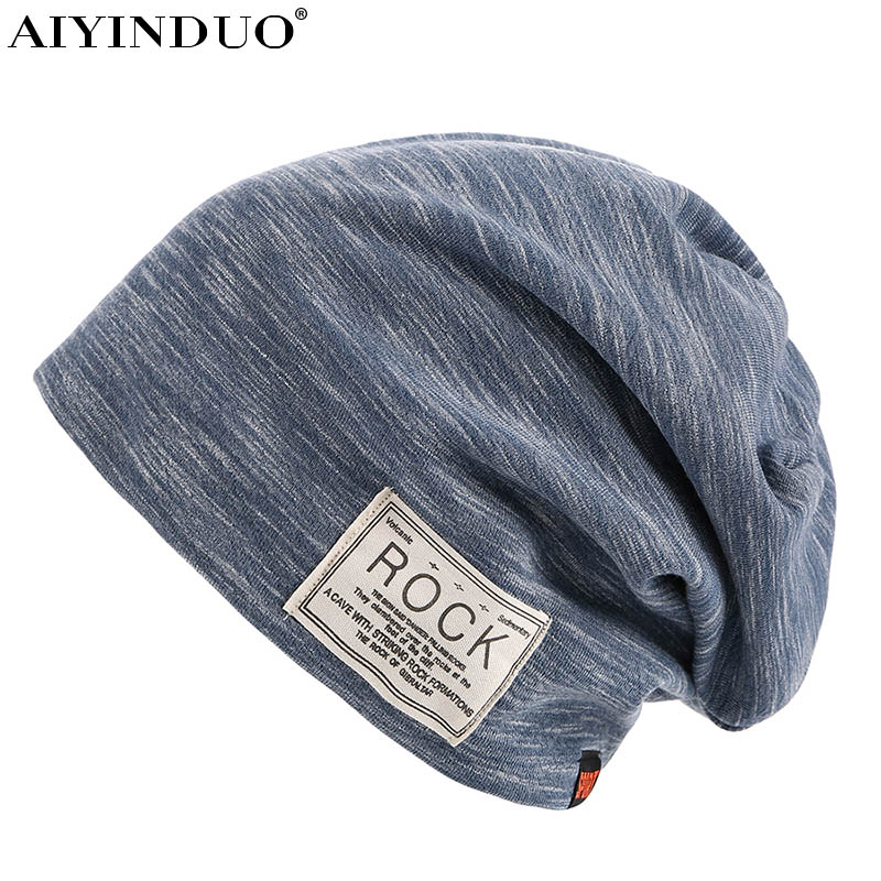 Hot sale 2017 new arrive  solid Skullies Beanies cap fashion design rock style outdoor sport cap high quality wool Stocking Hats skullies