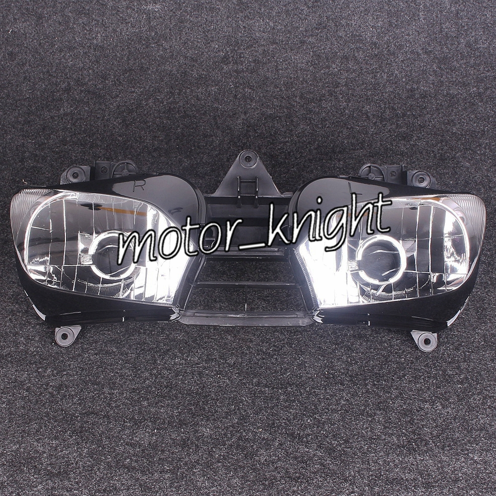 Front Headlight For Yamaha YZF R6 1998 1999 2000 2001 2002 Head Lamp Assembly KT