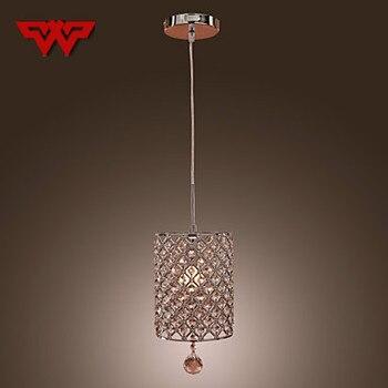 Hot Mini Crystal Chandelier Modern Minimalist Restaurant Bedroom Staircase Bar Crystal Lamp