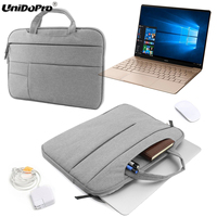 UNIDOPRO Laptop Sleeve Handbag For IPad Pro 12 9 Tablet Matte Case For MacBook Notebook Ultrabook
