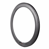 carbon bicycles wheels 60/88mm depths clincher tubeless rims from Oem bike parts firms with greatful quality and quick delivery