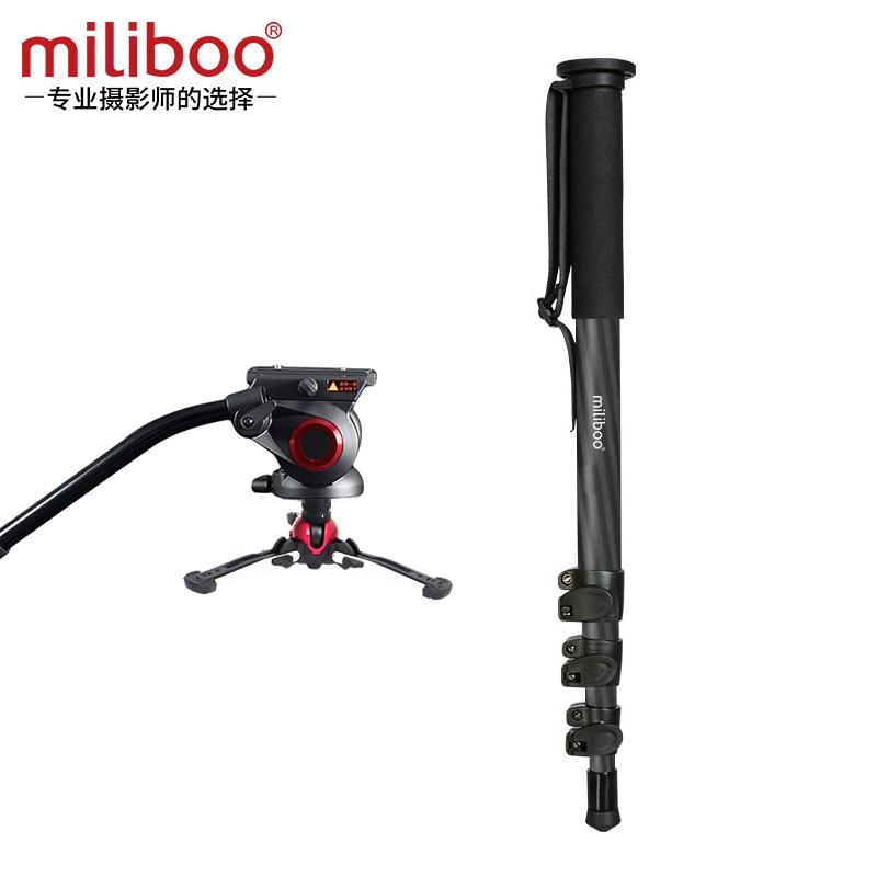 Miliboo MTT704B Carber Fiber Profesionalni Monopod s tekućinom Pan - Kamera i foto - Foto 5