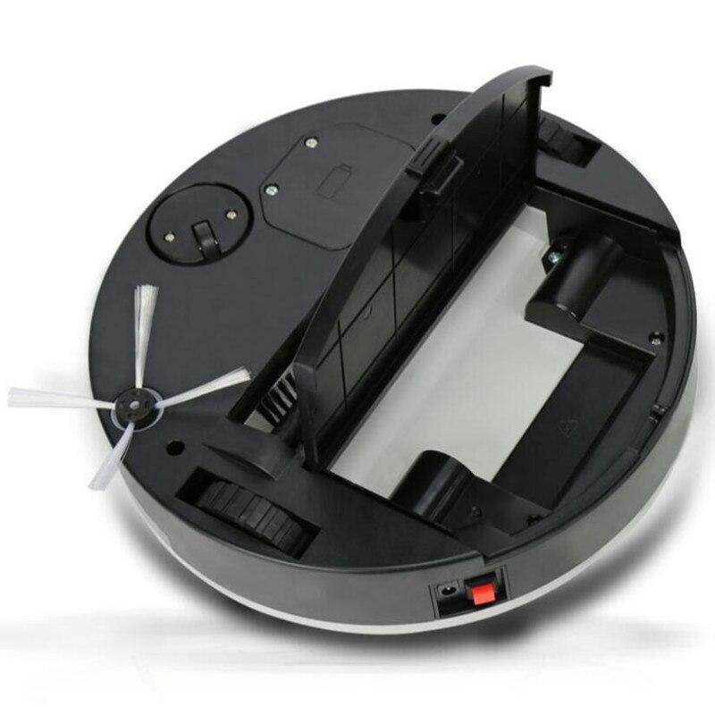 Aspirador de pó robótico para Pêlos de Animais Poeira Varredura Cleaner Aspiradores Robô Vácuo Coletor de Pó do Tipo Seco - 5