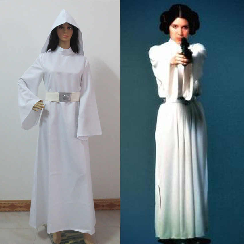 New Style Star Wars Princess Leia Organa Solo Cosplay Costume