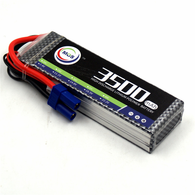 MOS 3S lipo battery 11.1v 3500mAh 30C For rc helicopter car boat quadcopter Li-Polymer batteria AKKU wild scorpion rc 18 5v 5500mah 35c li polymer lipo battery helicopter free shipping