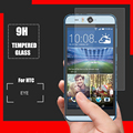 """0.3mm Templado Superior de Cristal para HTC Desire Ojo 5.2 """"9 H 2.5D Arco Duro Borde Protector Transparente de la Pantalla con Las Herramientas Limpias"""