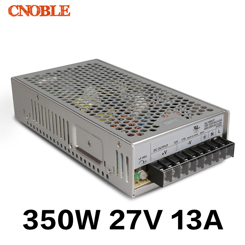350W 27V 13A Single Output Switching power supply AC TO DC Free shipping