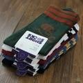 5 pairs Cool men's Skull and crossbones socks cotton brand men socks high quality Leisure in the tube sock Five colors
