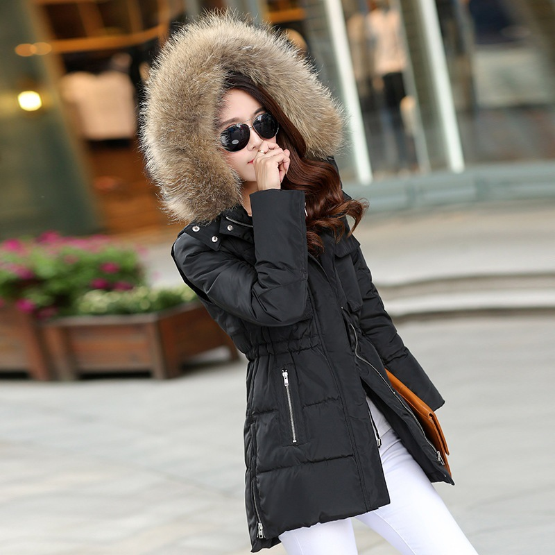 Winter Jacket Women Nice Winter Coat Women Long Parka Luxury Fur ...