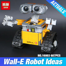 2017 New Lepin 16003 Idea Robot WALL E Building Set Kits Toys Educational Bricks Blocks Bringuedos