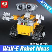 Nová Lepin stavebnice – model robota WALL E