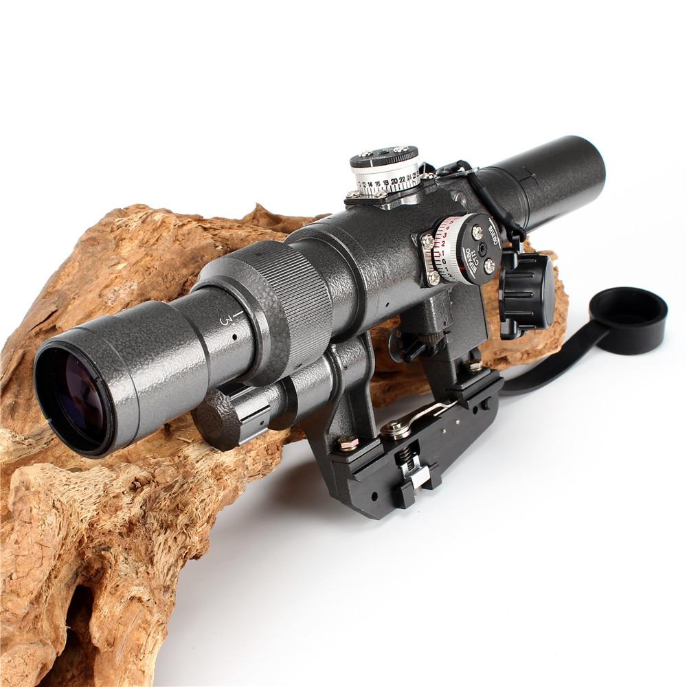 Dragunov SVD POS 3-9X24 Red Illuminated Sniper Rifle Riflescope Scope Fit AK 47 Riflescope For Airgun Air Rifle Scope Mount scope camera mount for rifle scope gun scope airgun scope for compact camera casio sony canon nikon fujifilm