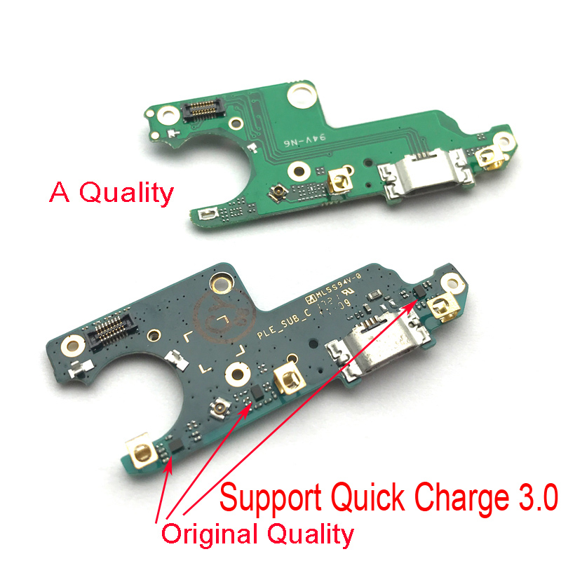 For Nokia 6 USB Port Charger Dock Plug Connector Charging Board FLex Cable Mic Microphone Board