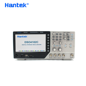 Image 2 - Hantek DSO4102C דיגיטלי מודד אוסצילוסקופ USB 100MHz רוחב פס 2 ערוצי כף יד Osciloscopio Portatil היגיון מנתח
