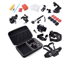 Gopro covered 30 times large package suits heo4/3 + sj4000 small ant accessories full range of camera accessories