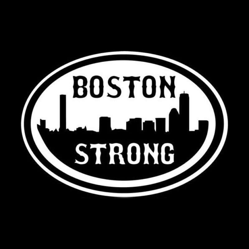 15cm10 6cm personality funny strong boston car window stickers accessories vinyl c5 0394 in car stickers from automobiles motorcycles on aliexpress com