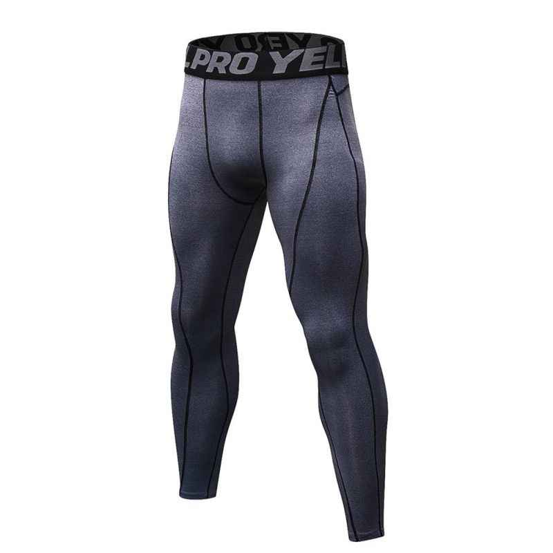 Men's Quick-Dry Riding Breathable Trousers Fitness Elastic Sweat-Training Pants Elastic Comfort Quick-Drying Pants