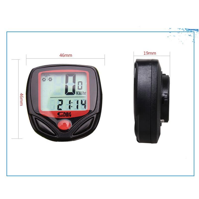 FuLang Bike Computer Leisure 15-Functions Cycling Computer Odometer Speedometer Waterproof   MB09