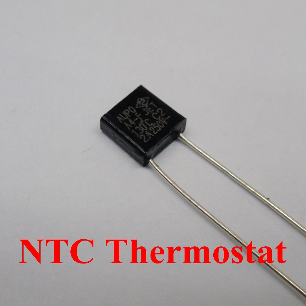 100pcs A8 F 150C 5A 250V degree Thermal Cutoff RH150 Thermal Links Black Square temperature fuse in Fuses from Home Improvement