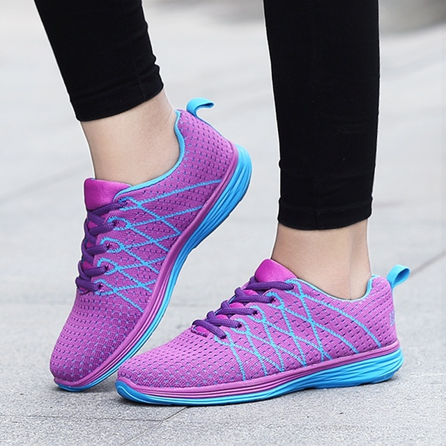 outdoor women running shoes girls light sneakers breathable jogging shoes  female ladies Sports shoes spring autumn size 35-40 4ce4c22cb973
