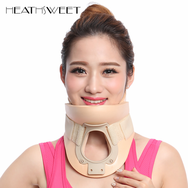 Healthsweet Cervical Collar Neck Brace Therapy Neck Massager Posture Brace Correct Neck Torticollis Corrector Device Pain Relief цена 2017