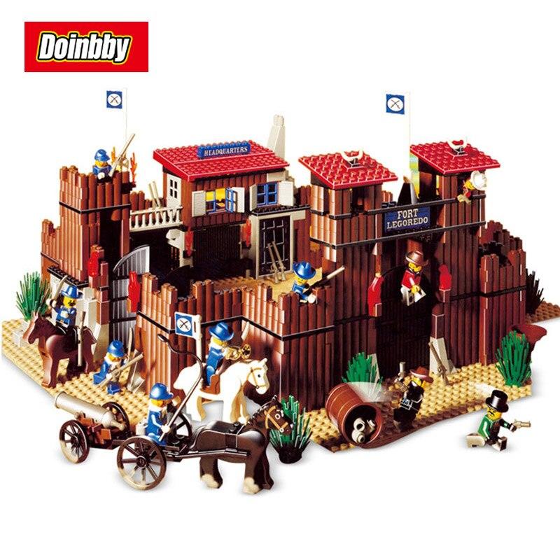 Lepin 33001 742Pcs Genuine Building Series The Idian Cowboy`s Castle Set Educational Building Blocks Bricks Toys Model 6769 crazy for the cowboy