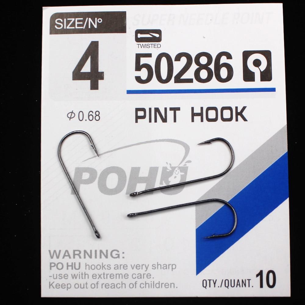 MIPIKE 1 Pack 3 12 Pint Hook Carp Fishing Hooks High Carbon Steel Fishhooks Matt Black Barbed Curve Shank in Fishhooks from Sports Entertainment