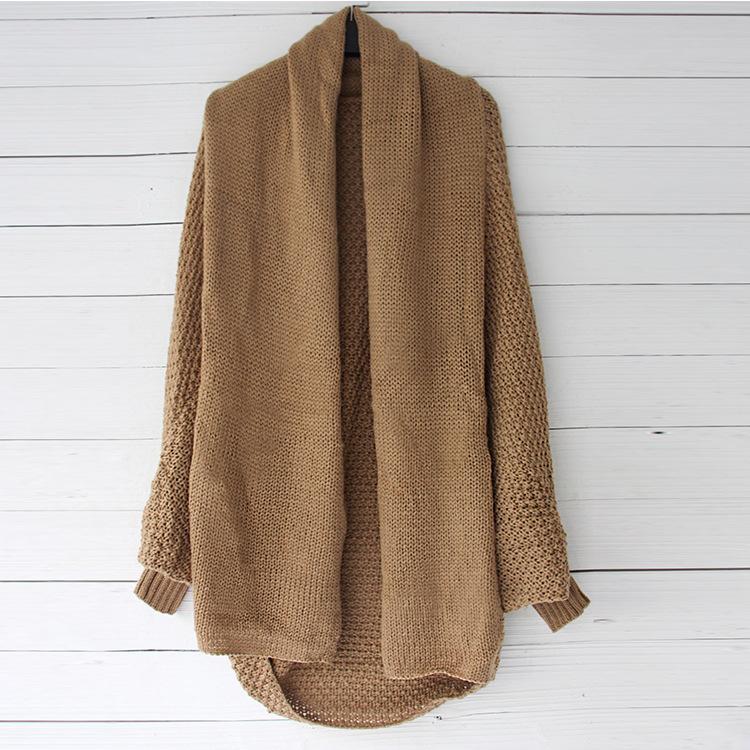 aea6bd9596 Großhandel Home Kleidung Winter Lange Pullover Mode Warm Outwear Für ...