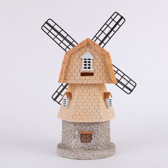 US $26 8 |Aqumotic House Piggy Bank 1pc Building Music Box Turn The  Windmill Lighthouse Castle In The Sky Cafe Money Box Props Tool-in Money  Boxes