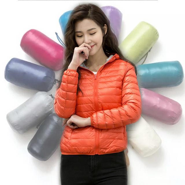 NewBang Brand dół kurtki kobiety Ultra Light dół kurtki kobiety Feather kurtki podwójne boczne odwracalne lekkie ciepłe płaszcze