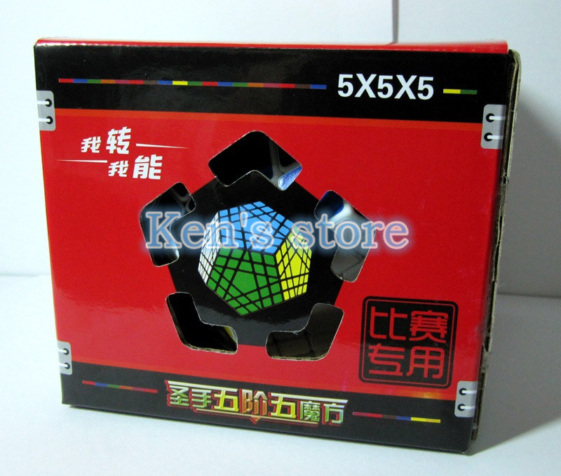 2017 Novi Shengshou SHS Gigaminx Puzzle Cube Stručni 5x5x5 PVC i Mat - Igre i zagonetke - Foto 6