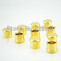 Free shipping 500pieces Noise Stopper Gold Plated Copper RCA Plug Caps Top Quality