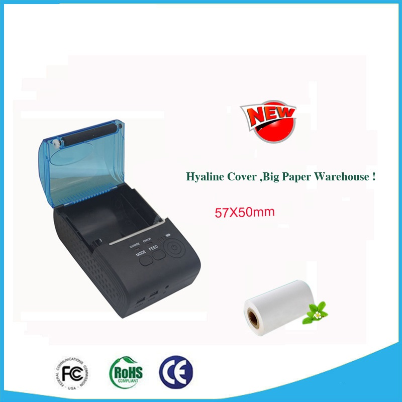 Handheld pos directly thermal receipt printer 58mm bluetooth android IOS printing machine 590AI can provide SDK for developing