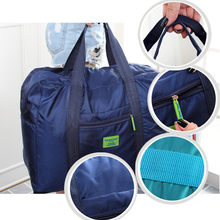 Waterproof Nylon Folding Travel portable Storage Bag Portable Clothes Sorting Bag for clothes small ziplock bags ridge wallet(China)